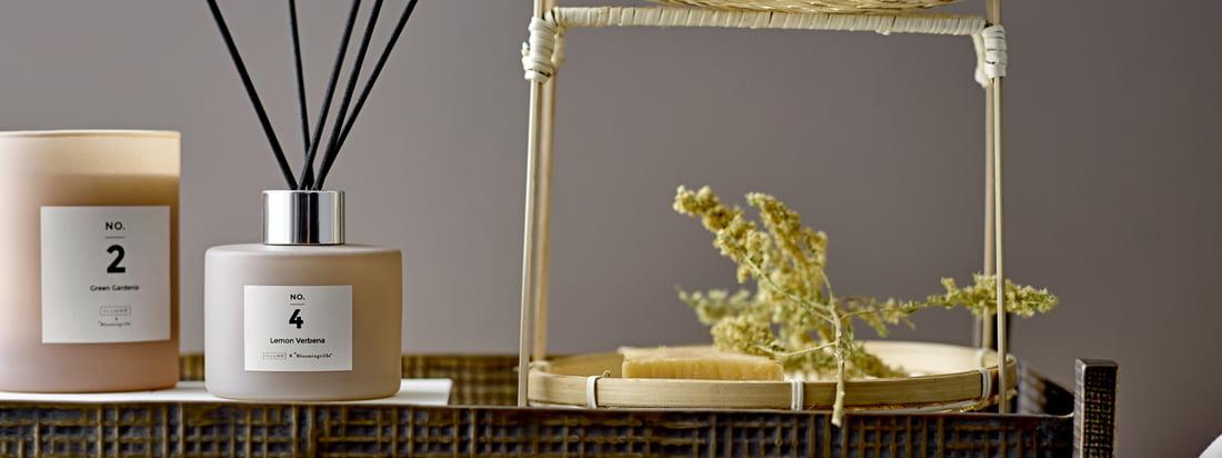 Qu'il s'agisse de bois de santal, d'ambre ou de sel de mer, le parfum sélectionné à la main de la bougie et du diffuseur se répand agréablement dans la pièce et la flamme de la bougie produit une lumière d'ambiance.