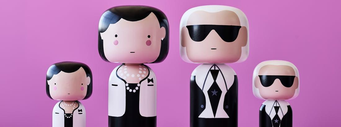 Qu'il s'agisse de Coco Chanel ou de Karl Lagerfeld, les figurines Sketch Inc. de Lucie Kaas sont disponibles en plusieurs modèles et tailles et sont toutes minutieusement peintes à la main.