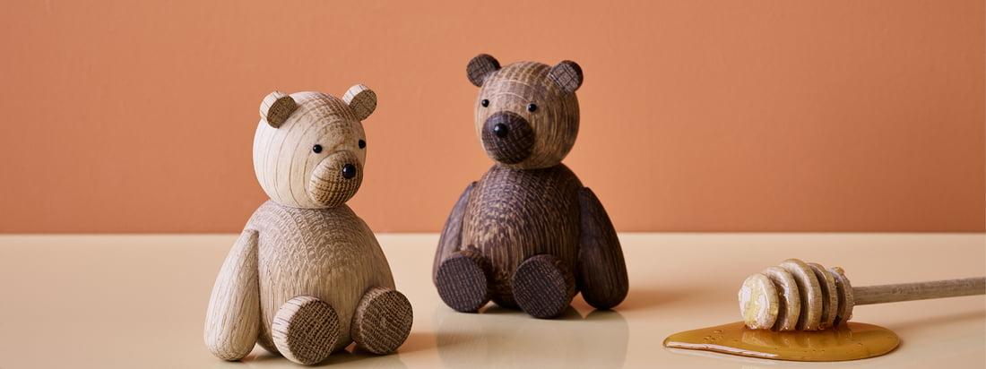 Est-ce que ça pourrait être plus mignon Les figurines en bois de Lucie Kaas sont peut-être un peu difficiles à câliner, mais en tant que décorations de table, elles s'intègrent à merveille dans la maison.