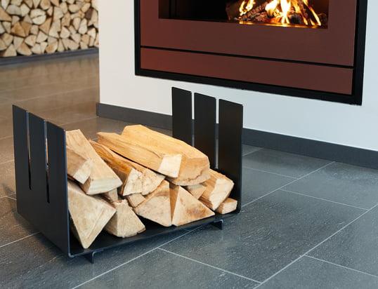 Accessoires de cheminée: Stockage de bois, Service à cheminée, dépôt de bois