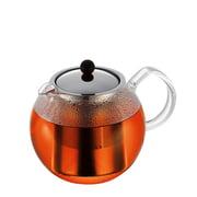 Bodum - Théière Assam - Filtre en acier inoxydable