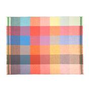 Zuzunaga - couverture en laine Squares 140 x 180 cm