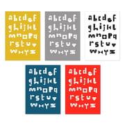Snug.studio - Lot de cartes postales snug.abc