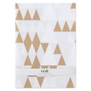 Karte - Papier cadeau Snowing in Vesterbro (lot de 4)