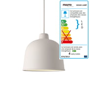 Muuto - Grain suspension lumineuse