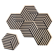 areaware - Dessous de verre Table Tiles Optic