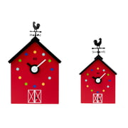 KooKoo - Horloge murale RedBarn