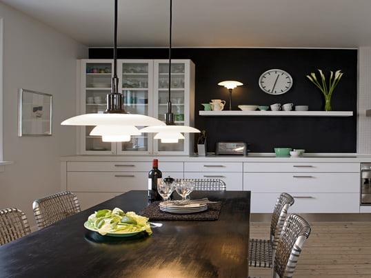 Pièces : Cuisine, Louis Poulsen, photo d'ambiance