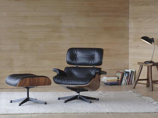 Vitra Lounge Chair offre un confort unique. Ce classique du design est devenu un synonyme de confort.