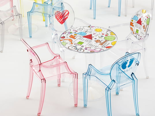 Kartell - Collection Kids - 4 par 3
