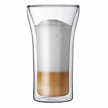 Assam de Bodum, verre à double paroi Assam 4,0dl