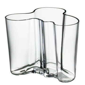 Aalto Vase Savoy, transparent 120 mm