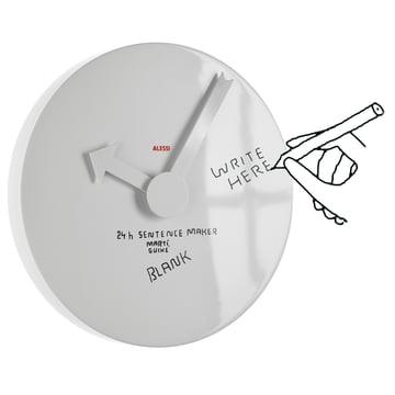 Alessi - Horloge murale Blank Wall Clock
