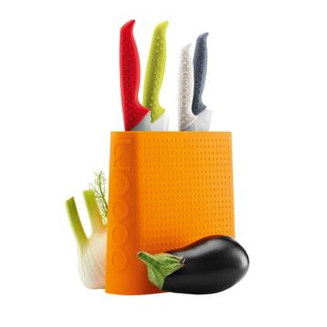 Bodum - Bloc à couteaux Bistro, orange