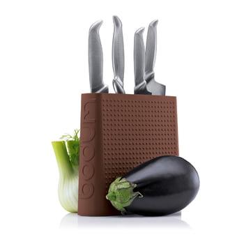 Bodum - Bloc à couteaux Bistro, marron