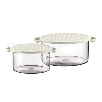 Bodum - Set Hot Pot 2 pièces, couleur crème