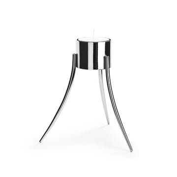 Born in Sweden - Tealight Holder, chrome
