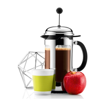 Bodum Canteen mug et Chambord cafetière