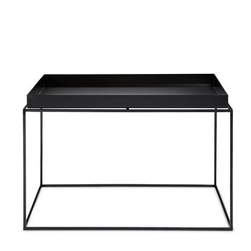 Hay - Tray Table carrée, 60 x 60 cm, noir