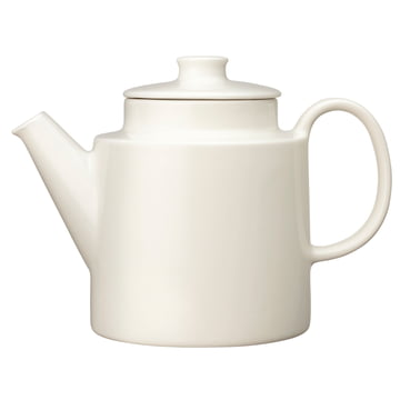 Iittala - Teema théière avec couvercle, 1 litre, blanc