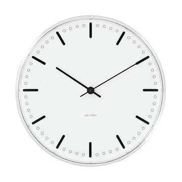 Rosendahl - Horloge murale AJ City Hall - 21cm