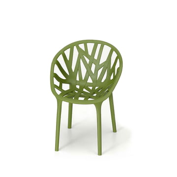 Vitra - Chaise miniature Vegetal, vert