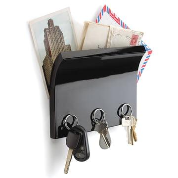 Umbra - Panneau à clés Magnetter, noir - avec clés