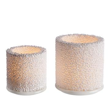 Iittala - Fire photophore - groupe, avec bougies à chauffe-plat