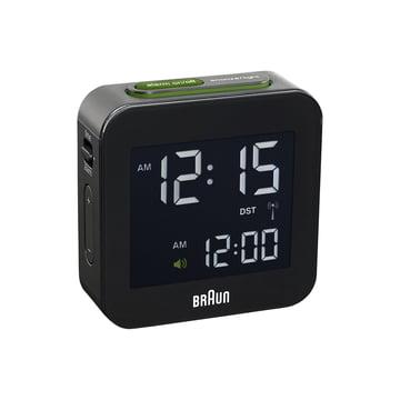 Braun - Radio-réveil numérique BNC008, noir