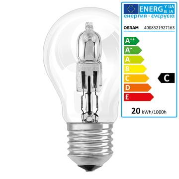 Osram - Ampoule halogène Eco Pro Classic A, E27