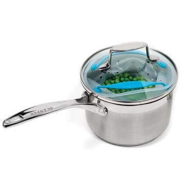 Dreamfarm - Panier vapeur Vebo, petit - casserole avec couvercle