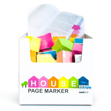 Suck UK - Index repositionnables House Page Markers - Boîte