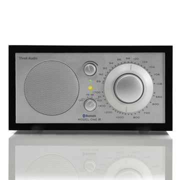Tivoli Audio - Model One BT, noir/argent, front
