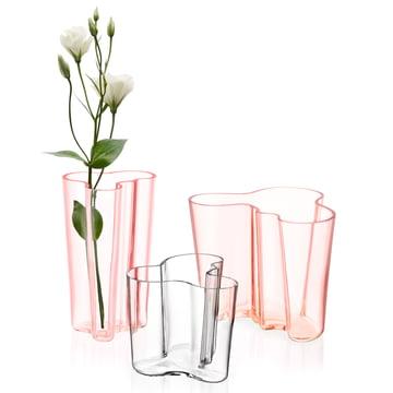 Iittala - groupe Aalto avec fleur, libre