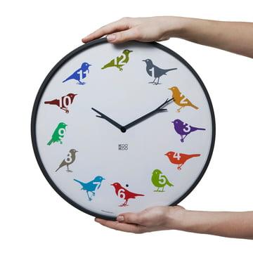 KooKoo - Horloge Ultra Flat, multicolore - Présentée