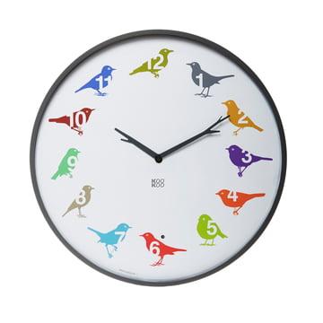 KooKoo - Horloge Ultra Flat, multicolore