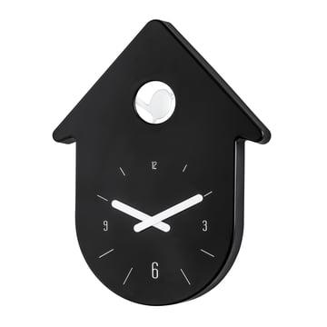 Koziol - Horloge murale Toc-Toc, noir/blanc