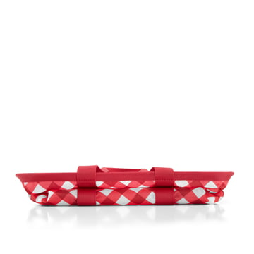 reisenthel - Sac mini maxi basket, rouge à carreaux - Replié