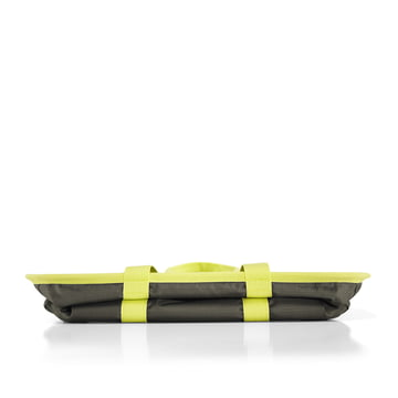 reisenthel - Sac mini maxi basket, vert olive foncé - Replié