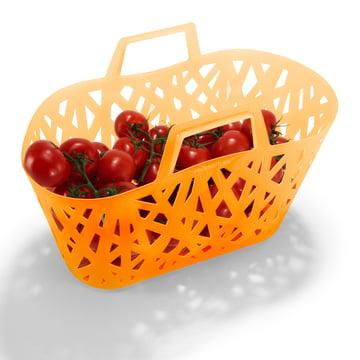 Panier nestbasket de reisenthel avec des tomates