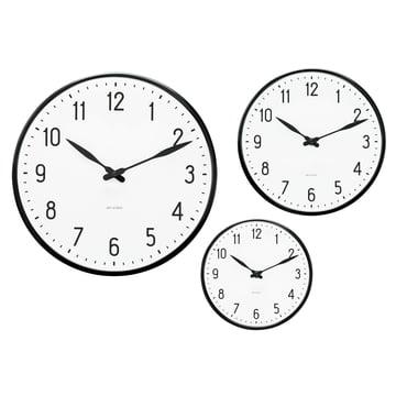 Rosendahl Timepieces - Horloge murale AJ Station - Groupe, tailles