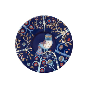 Iittala - Taika - bleue - soucoupe à espresso, Ø 11 cm