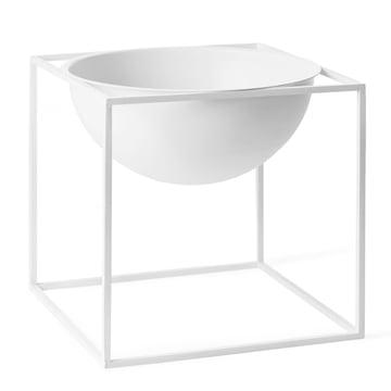 by Lassen - Kubus Bowl, grand, blanc