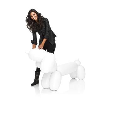 Fatboy - Inflatable Hot Dog, blanc - avec une personne