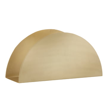 ferm Living - Porte-papiers Brass - incliné
