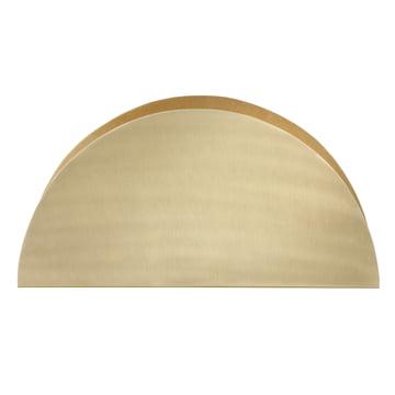 ferm Living - Porte-papiers Brass Semicircle - avant