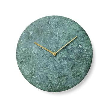 Menu - Marble Horloge murale, vert