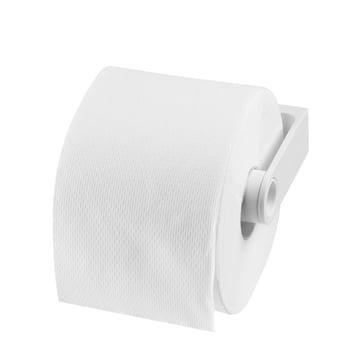 Authentics - Distributeur de papier toilette Lunar, blanc - avec papier