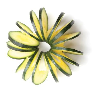 Monkey Business - Coupe-légumes Cucumbo - Courgette coupée