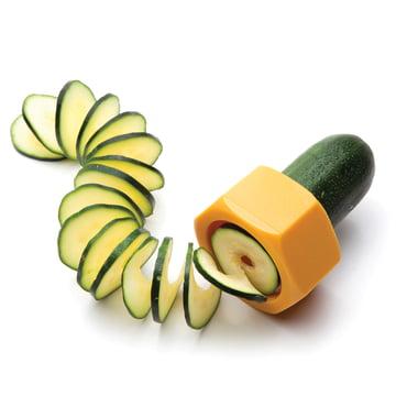 Monkey Business - Coupe-légumes Cucumbo, jaune - avec courgette